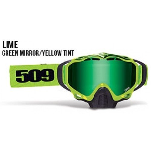 509 Sinister X5 Lime Green Mirror Yellow Tint - Tint Green Of