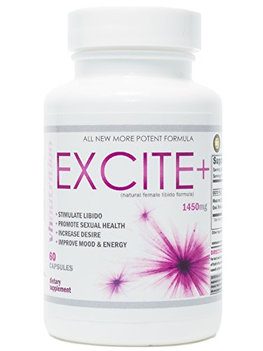 ExcitePlus | Intimacy Formula for Women | Epimedium, Maca, Vitex, Dong Quai, Shatavari and More | Capsules to Drive Better Intimate Experiences