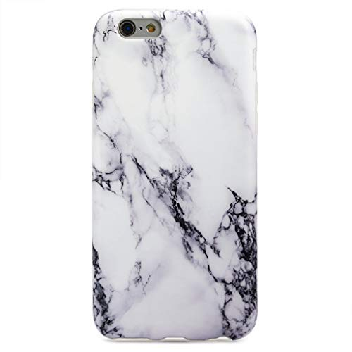 GOLINK iPhone 6S Case Marble Series Slim-Fit Ultra-Thin Anti-Scratch Shockproof Dust Proof Anti-Finger Print TPU Case for iPhone 6/iPhone 6S 4.7 - White Marble II