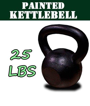 New 25 kg de hierro fundido pesas rusas peso mancuernas Kettlebell