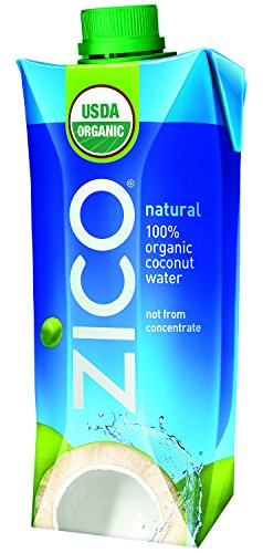 Coca Cola Zico Natural Organic Coconut Water, 16.9 Ounce ...