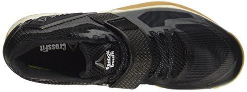 Reebok Bd5298, Zapatillas de Deporte para Hombre Negro (Black /             Classic White /             Rbk Rubber Gum /             Pewte)