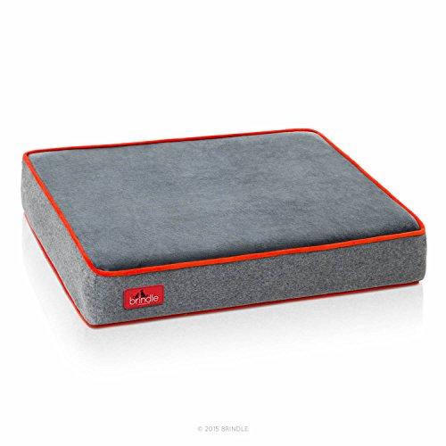 Brindle-Waterproof-Designer-Memory-Foam-Pet-Bed