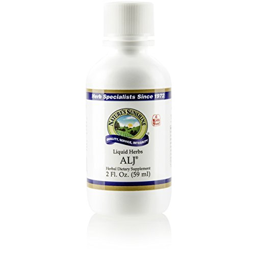 Nature's Sunshine ALJ, 2 fl. oz. | A Unique Herbal Formula Developed to Support a Healthy Respiratory System When Challenged by Inhaled Irritants