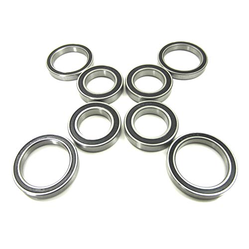Hub Bearing Ceramic - TRB RC Ceramic Wheel Hub Bearings 15x24x5mm-20x27x4mm Traxxas X-MAXX