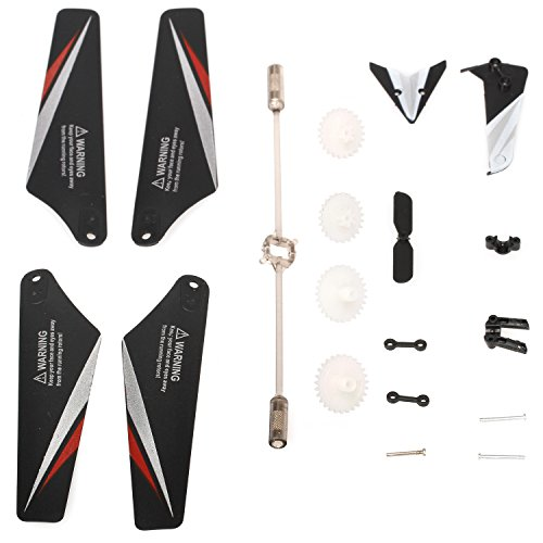 (S107 S107G Helicopter Toys Accessories Spare Parts Set)