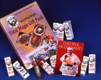 Chef Paul Prudhomme's Magic Seasoning Blends ~ Total Magic Giftpack - ''FIERY FOODS''