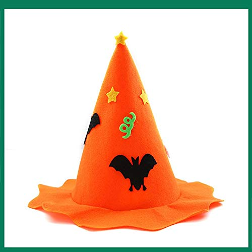 Party Hats - Hat Props Kids Non Woven Children 39 S Headdress Party Decoration Accessory - Black Safari Straw Glasses Light Minnie Tiny Animals Glitter Pack Makers Poms Gold Gangster Teens Blowe