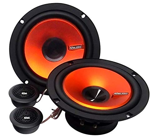"BZRK Audio ODR-65 6.5"" 2-Way Component Speaker System 120 watts for Car"