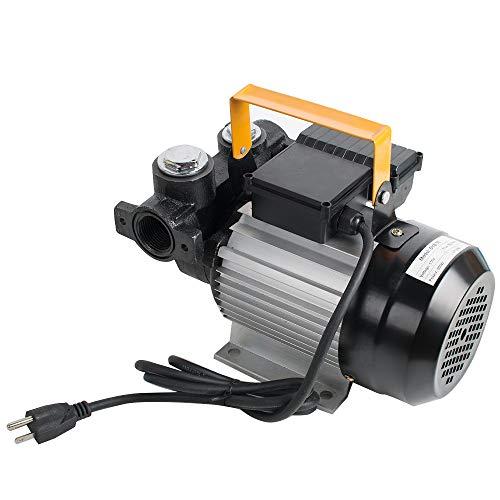 Diesel Transfer Pump Kit Fuel Self Priming Oil 60L/Min Electric Self-priming Diesel Kerosene Oil Fuel Transfer Extractor Pump