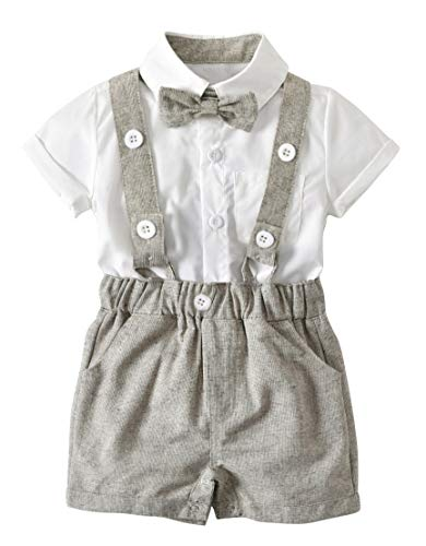 Toddler Baby Boys Gentleman Summer Suits Set