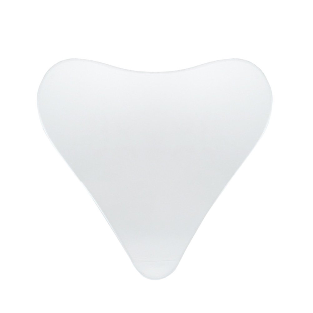 Healifty Anti-Wrinkle Chest Pad for Sun Damage Repair and Wrinkle Prevention Reusable Silicone Chest Pad