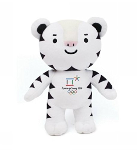 Winter Olympic Mascots (2018 Pyeongchang Winter Olympic Official Mascot 30cm/11