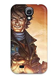 First-class Case Cover For Galaxy S4 Dual Protection Cover Fable