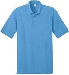 Joe's USA - Men's Tall Polo Shirt in 21 Colors. Tall Sizes: LT-4XLT