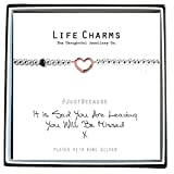 Life Charms Sad You Are Leaving You Will Be Missed Bracelet