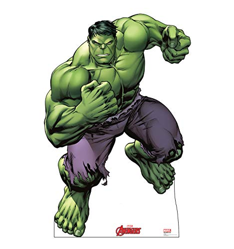 Advanced Graphics Hulk Life Size Cardboard Cutout Standup - Marvel's Avengers Animated