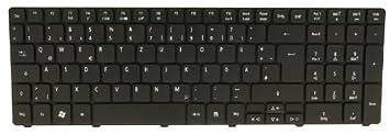 DE schwarz Aspire 7741 Serie Original Acer Tastatur deutsch