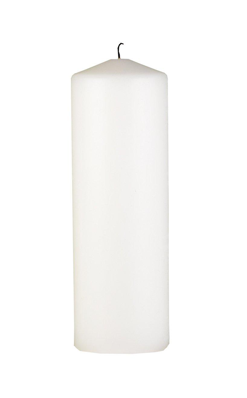 Hortense B. Hewitt Wedding Accessories Unity Candle, White, 9-Inch