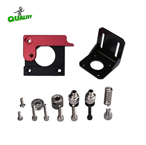 CHPOWER MK8 Extruder Right Hand Aluminum Frame Block DIY Kit Upgraded Replacement Remote Extruder for RepRap Prusa i3 3D Printer by CHPOWER