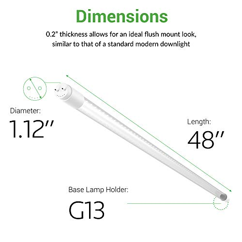T8-LED-Tube-Light-4ft-4818W-2200-Lumens-Works-WITH-or-Without-a-Ballast-Fluorescent-Replacement-Light-Lamp-Clear-CoverULETLDLC-Plug-and-Play-2-Sided-Connection