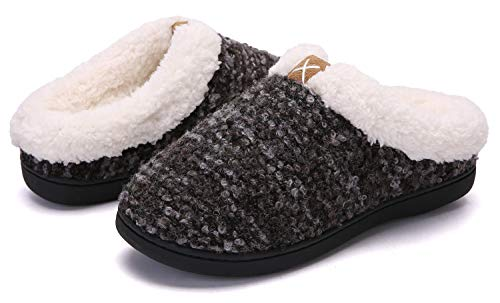 Pictures of Women's Comfort Memory Foam Slippers Plush 7