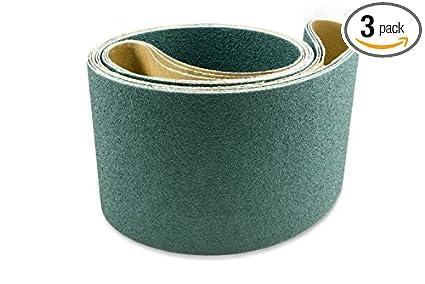 Amazon.com: Cinturones de lija de 4 x 36 pulgadas, circonita ...