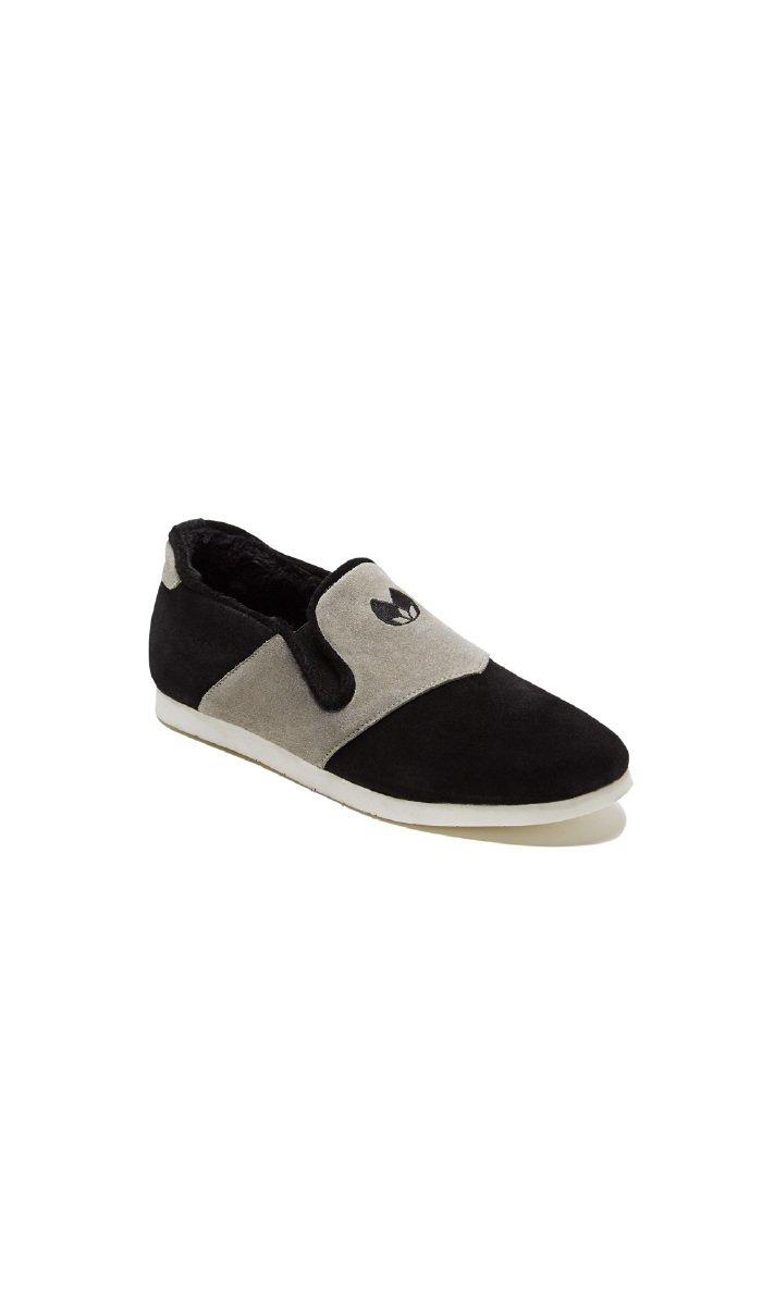 Nénufar Indoor Footwear Encre - Unisex - 5 - Black