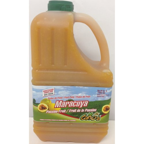 Passion Fruit Pulp Puree Frozen - 64 oz (Pack of 6) by Canoa (Image #1)
