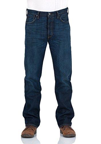 Levi's 501 Original Fit, Jeans Homme Blue-dk-shade Blue