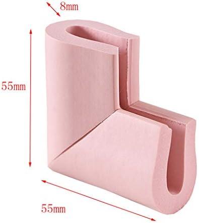 FLAMEER ベビープルーフテーブルコーナーガードUタイプキッズプロテクタークッションフォーム - ピンク