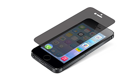 ZAGG InvisibleShield Privacy Glass Screen Protector for iPhone 5 / iPhone 5S / iPhone 5SE (Best Privacy Screen Protector For Iphone 5s)