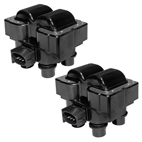 Pack of 2 Ignition Coils for Ford Lincoln Mercury Compatible with C924 FD-487 FD487 DG530