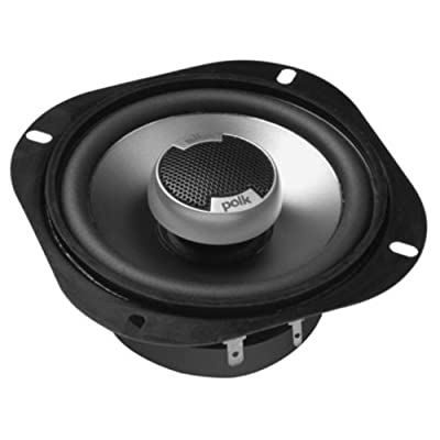Polk Audio DB501 5-Inch Coaxial Speakers (Pair, Black): Car Electronics