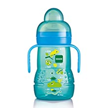 MAM Trainer Bottle with Handles, Boy, 4 Plus Months 8-Ounce, (For Boy)