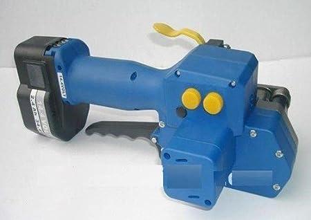 Gowe portátil automáticos y eléctricos con batería plástico PET PP flejes máquina, mano PET flejes embalaje herramienta para 16-19MM
