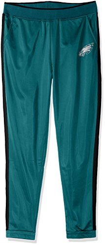 NFL Philadelphia Eagles Women's Progression Track Pants, Large, Green