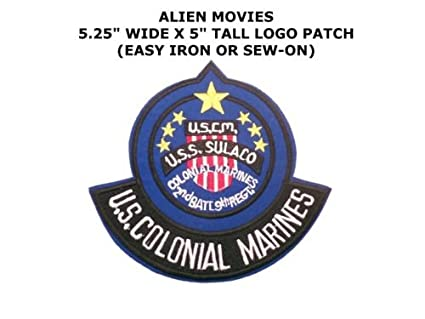 Aliens U.S.S. Sulacco Colonial Marines with Rocker Embroidered Patch 15.25cm by I.E.Y.online-store