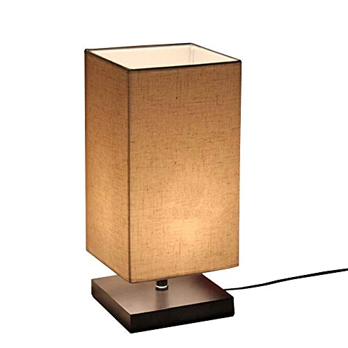 Surpars House Minimalist Solid Wood Table Lamp Bedside Desk Lamp