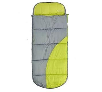 ReadyBed - Saco hinchable para dormir o camping juvenil exclusivo en el domingo de la electricidad: Amazon.es: Deportes y aire libre