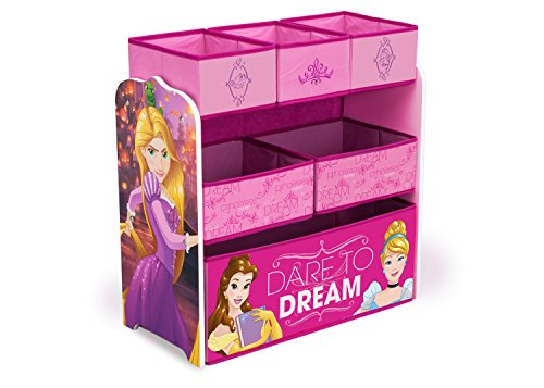Dress Up Castle Storage (Delta Children Multi-Bin Disney Princess Toy Organizer)