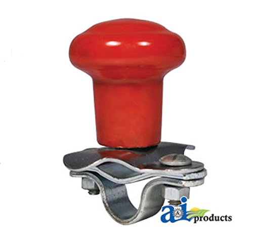 - A&I Red Tractor Steering Wheel Spinner Knob