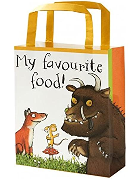 Talking Tables Gruff-TREATBAG The Gruffalo Party Bags, Microfibra, Medium: Amazon.es: Hogar