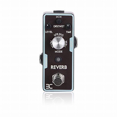 Digital Reverb Guitar - EX Digital Reverb Spring Space Reverb Micro Guitar Effects Pedal