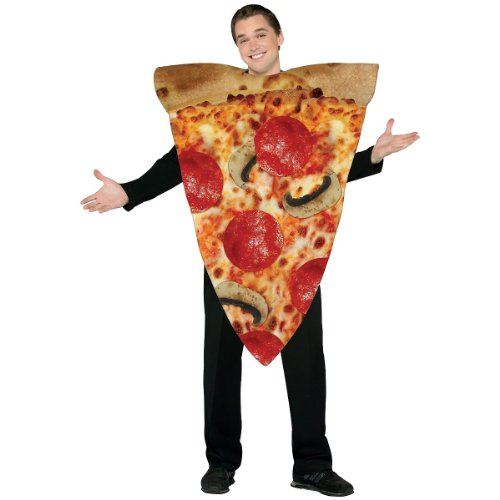 Rasta Imposta Pizza Slice Costume - One Size - Chest Size 42-48 from Rasta Imposta
