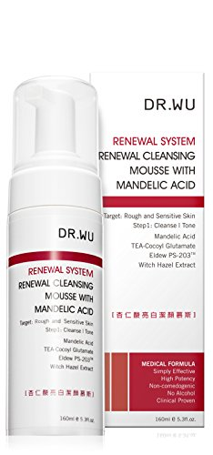 Mild Cleansing Mousse - DR.WU Renewal Cleansing Mousse with Mandelic Acid