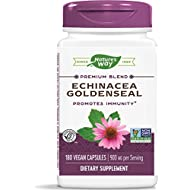 Nature's Way Echinacea Goldenseal, 900 mg per serving, 180 Capsules