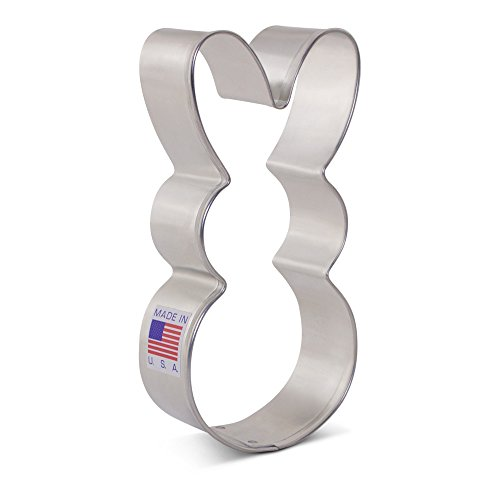 Easter Bunny Cookie Cutter - 4.13 Inch - Ann Clark - US Tin Plated Steel