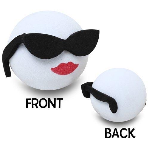 Happy Balls Cool Girl Antenna Topper