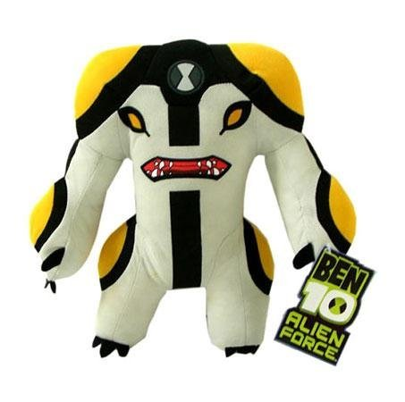 - Ben 10 Alien Force 8 Inch Plush Figure Cannonbolt